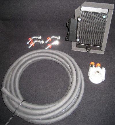Ölkühlersystem Lotus ein Ölkühler / zwei Ölkühler