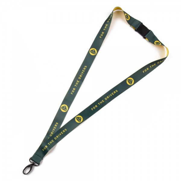 """Lotus Merchandise: Schlüsselband-Lanyard """"For the Drivers"""""""