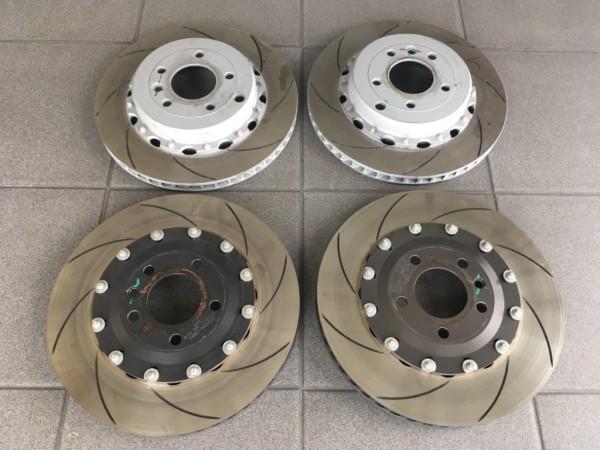 Gebrauchte Lotus 2tlg.-Sportbremsscheiben für alle Exige V6
