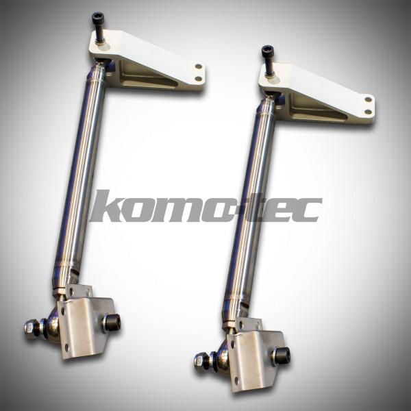 2011 Lotus Elise Suspension: Unibal Toe Link Kit Elise / Exige With Aluminum
