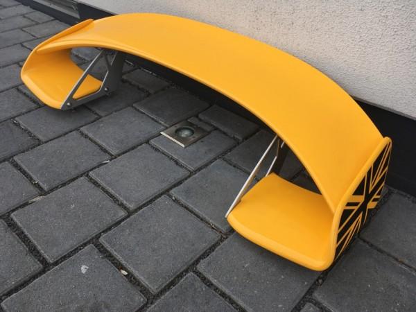 Exige V6 Heckflügel gelb/schwarz