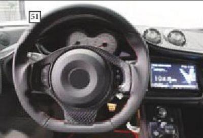 Individuelles Sport Leder Lenkrad Mansory Evora