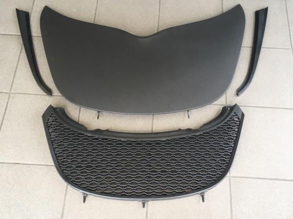 Gebrauchtes Service-Panel Exige V6 schwarz matt mit Grills