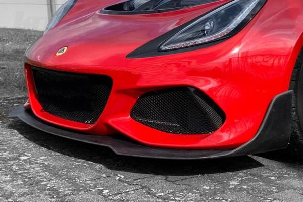 """Carbon Frontsplitter """"KT-Track"""" Exige V6"""