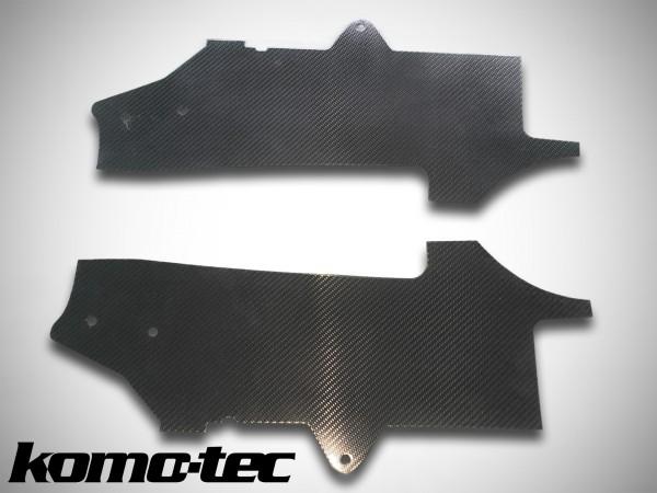 Carbon Aeroabdeckung Dreieckslenker vorne Exige V6