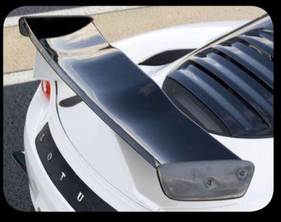 Heckflügel GT4 Lotus Motorsport Evora