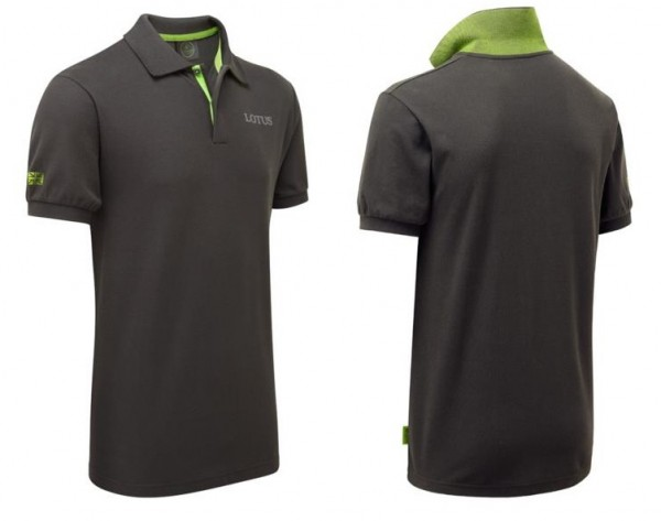 Lotus Polo-Shirt grau