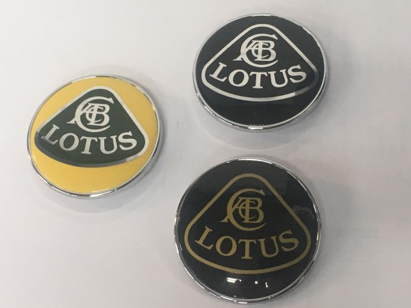 Lotus Frontemblem Nose-Badge (verschiedene Varianten)