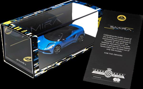 Lotus Merchandise: Emira Modellauto 1:43 - Limited Edition