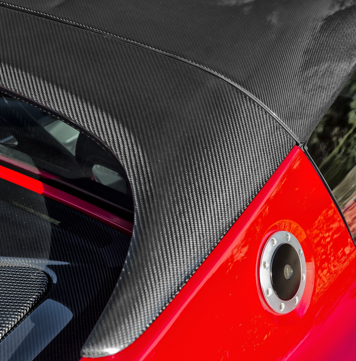 2011 Lotus Elise Suspension: Carbon Roll-Roof-Cover